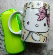 Hello Kitty mug and child's glasses case