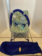 Infantino Fold & Go Lounger with storage bag 151-888 *pre-owned*