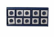 15mm Square Corner Carbide Inserts (15mm lengthX15mm widthX2.5 thick),Pack of 10