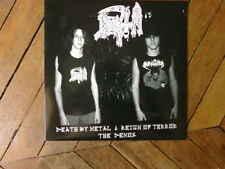 DEATH death by metal & reign of terror LP the demos 84-85