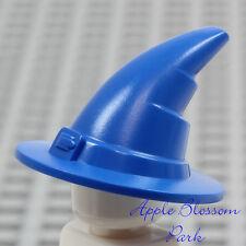 NEW Lego Minifig BLUE WIZARD HAT - Castle Kingdom Sorcerer Devil Witch Head Gear