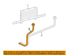 GM OEM Transmission Oil Cooler-Outlet hose 15052182