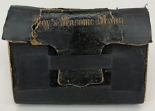 Antique 1857 The Masonic Manual By Robert MacoyFreemasonry