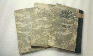 1960 Set of 3 Arabic Book  كتاب النحو الواضح في قواعد اللغة العربية  علي  الجارم