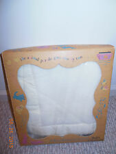 "1960's VINTAGE Baby Chatham Bunny Esmond Crib Blanket in box 36"" X 50 FLUFFIE"