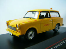 TRABANT 601 FOLLOW ME TRANSPORT DHL HUB LEIPZIG 2001 ISTMODELS IST190 1/43