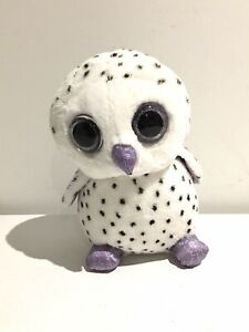 Russ Frost Owl Snowy Owl Plush Soft Toy Russ Collectible Used Excellent 20 Cm