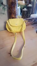 Elle yellow crossbody bag