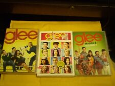 (3) Glee Season DVD Lot: Glee Complete Seasons 1 & 2 + Road to Sectionals