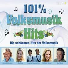 Volksmusik Hits -101% Volksmusik - Die schönsten Hits der Volksmusik  3CD NEU