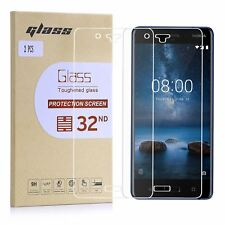 32nd Extra Armoured Tempered Glass Screen Protector For Nokia 8 (2017) - 2 Pack
