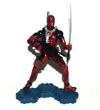 Marvel Legends Comic Super Hero Deadpool Red Suit Action Figure Loose with Base