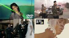 102 Hip Hop RAP & RnB Music Videos Rihanna Drake WEEKND Future Kevin Gates 4DVDs