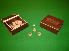 GENUINE KAMUI BROWN MEDIUM/HARD SNOOKER & POOL TIPS Chesworth Cues Sheffield