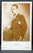 Willi Forst - AK - Foto Autogramm-Karte - Photo Postcard (Lot F8337