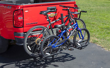 New listing Bike Rack For Two Bikes Hitch-Mounted Platform 80lb Capacity Foldable
