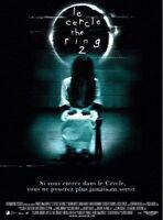 Plakat Gebogen 120x160cm Le Circle / The Ring 2 (2005) Naomi Watts Neu