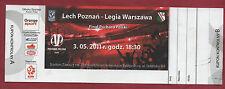 Orig.Ticket   Polen Pokal 10/11  FINALE  LECH POZNAN - LEGIA WARSCHAU  !! SELTEN