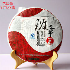 China yunnan Natural 357g Ripe puer tea puerh tea cake Black tea good for health