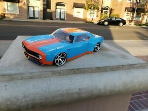 200mm Custom Paint CAMARO 4Tec HPI TC7 Lipo Drift MST 1/10 WB=257mm Body Only