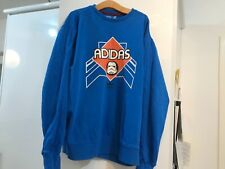 Blue Adidas sweatshirt, lightly used. size XL. Stormtrooper outlined in orange.