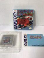 Game Boy Super RC Pro Am Original Box W/ Manual RARE vintage Nintendo