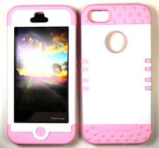 KoolKase Hybrid Silicone Cover Case for Apple iPhone 5 - White (R)