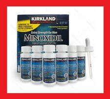 Kirkland Minoxidil 5% Extra Strength Men Hair Regrowth Solution-6 Month Supply