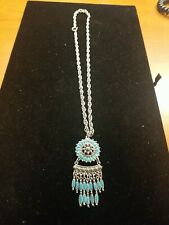 turquoise necklace vintage native american