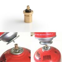 Gas Refill Adapter Outdoor Camping Stove Cylinder Filling Butane Canister