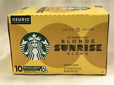 Starbucks K-Cups Limited Edition Blonde Sunrise Blend, 10 - K-Cups Pods