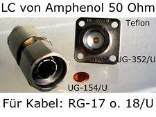 Amphenol HF- & Koax-Steckverbinder BNC/TNC/C/N/HN/LC/MB/SMA-B-C,TWIN,Triax 13/30