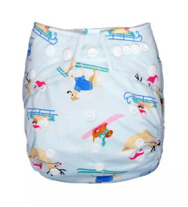 Babyland Diapers - Pocket Nappy With Super Soft Stay-Dry Fleece Lining