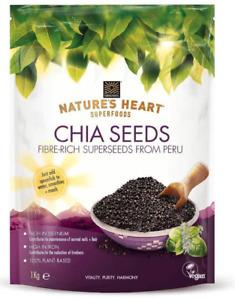 Terrafertil Nature's Heart Chia Seeds, 1kg