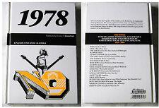 Un an et ses chansons 1978 ramones, Blondie, Nina Hagen Band... fotobuch + CD