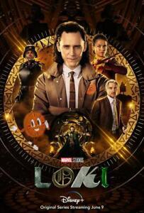 Loki TV show 2021 Decal Movie Poster Photo Print Wall art avengers Thor USA