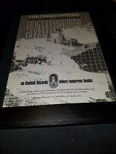 The Ohio Express Sausalito Rare Original Promo Poster Ad Framed!