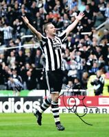 Signed Kevin Nolan Newcastle United Autograph Photo + Proof Bolton