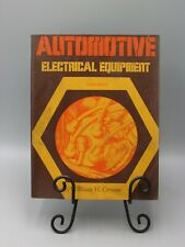 1976 Automotive Electrical Equipment Maintenance W Crouse Illust 8th Ed bk3284