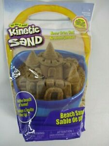 Kinetic Sand, 3lbs Beach Sand for Ages 3 and Up
