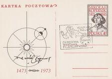Poland postmark PSZCZYNA - philatelic exhibition COPERNICUS