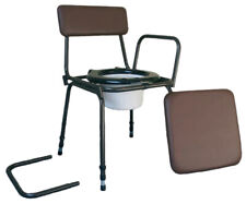 Aidapt Surrey Height Adjustable Commode Chair with Detachable Arms