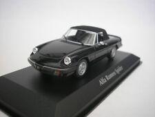 1 43 Minichamps Alfa Romeo Spider with Softtop 1983 Black
