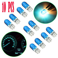 10x Blue T10 501 W5W Bulbs Lamp for Instrument Gauge Cluster Dash Light W/