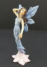 Small Pink Blue Fairy Mythical Statue Fantasy Figurine 5""