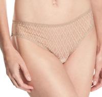 Else Baklava Nude Thong Women's Underwear Size S 56742