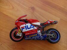 1/18 MAISTO DUCATI 999 JAMES TOSELAND #52 WORLD SUPERBIKE MOTORCYCLE BIKE