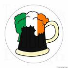 """60 Ireland Irish Beer Vinyl Envelope Seals Labels Stickers 1.2"""" Round."""