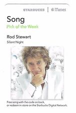 Starbucks Music Card (Expired) - UK Singing Legend Rod Stewart