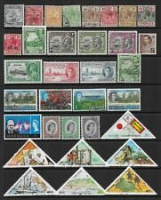 3 scans-Collection of mixed mint/fine used Grenada stamps.